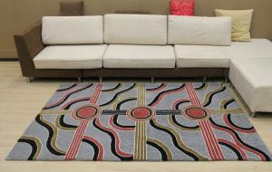 Hand Tufted Acrylic Area Rugs and Carpets with Modern Design and Low Price