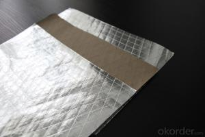 Aluminum Foil Facing, Single Side Paper Foil for Glasswool