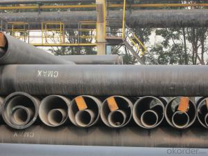 Ductile Iron Pipe of China DN250 EN545/EN598/ISO2531 High Quality