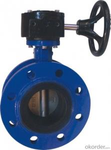 Butterfly Valve Ductile Cast Iron With Frame Can be Customised
