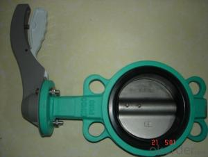 Butterfly Valve of Ductile Cast IronMade in China 9100