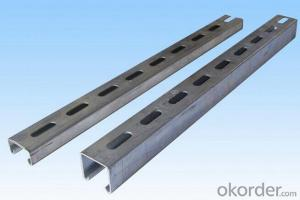 Hot dipped Galvanized strut C channel