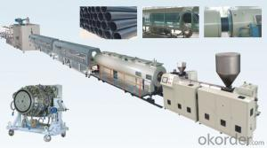 Large Size PE pipe extruder production line extrsuion