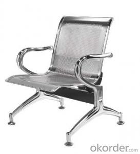 Latest Stainless Steel Waiting Chair 500-01F