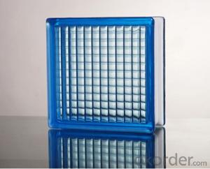 Glass Block (Parallel Blue)