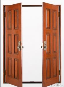 Iron Steel Security Metal Door 1702