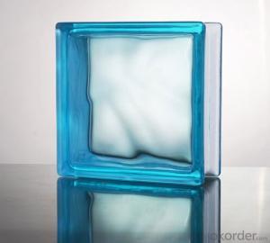 Glass Block (Cloudy Sapphire)