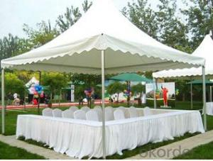 Pagoda grass party tent