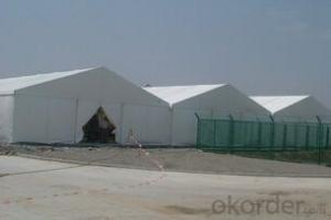Waterproof,fireproof and uv resistant industrial storage tent