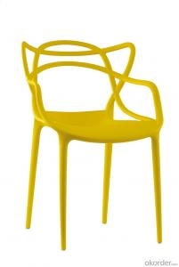 Morden design plastic leisure chair master chair