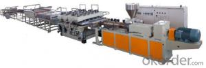 PVC WPC Skinning Foamed Plate Production Line/ Production Machine