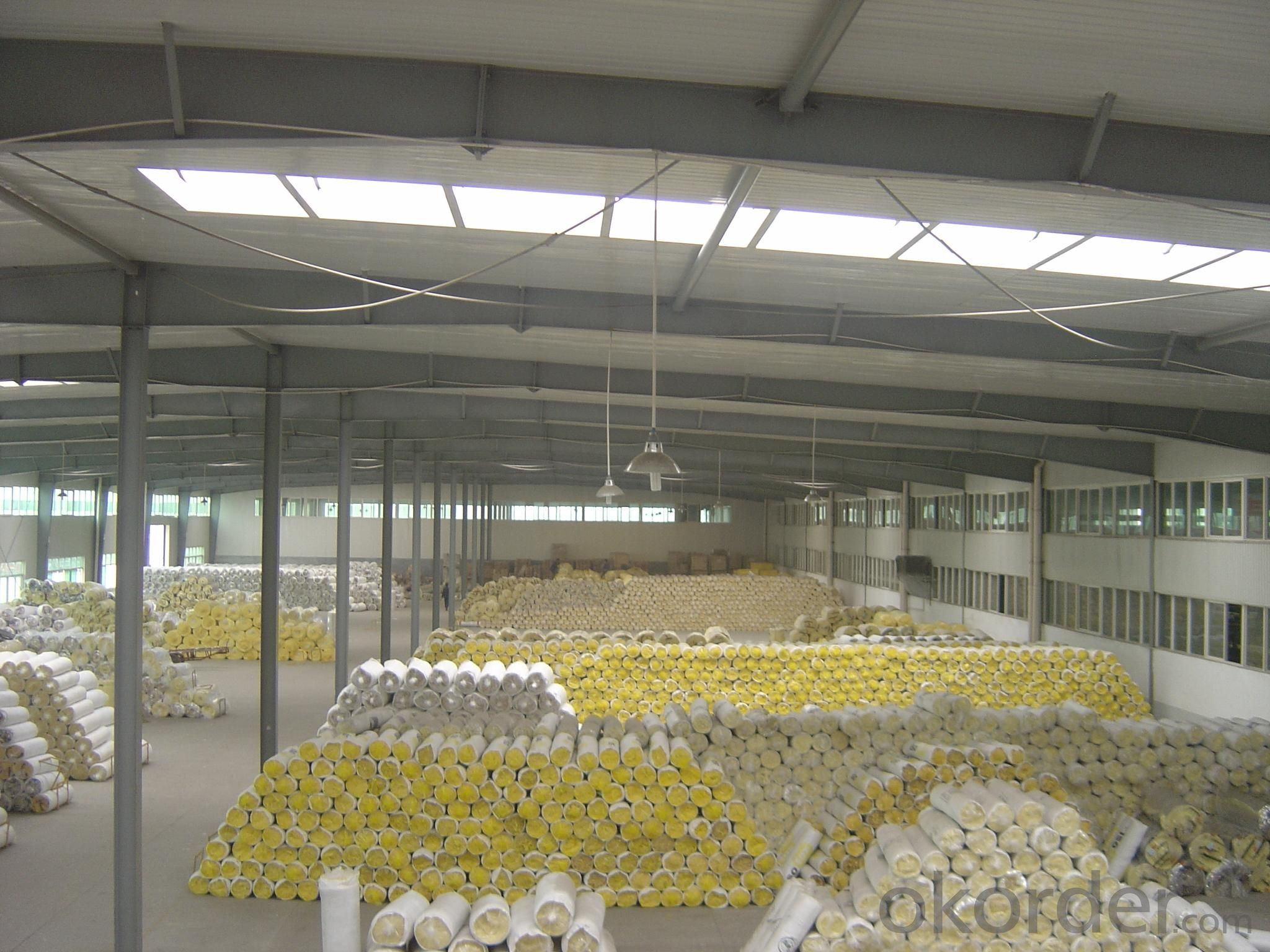 Insulation Glass Wool Blanket Kraft Paper Faced