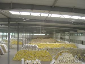 Thermal Insulation Glass Wool Blanket FSK Faced For Insulation Good Quality