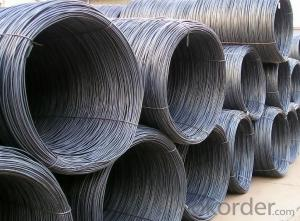 GB Standard Q195 Steel Wire Rod with High Quality