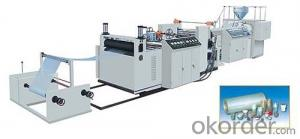 PP PET Transparent Sheet Production line Plastic Sheet Making Machine