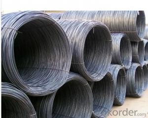 Hot  Rolled Carbon Steel Wire Rod
