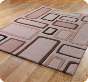 Acrylic Hand Tufted Carpet Tile
