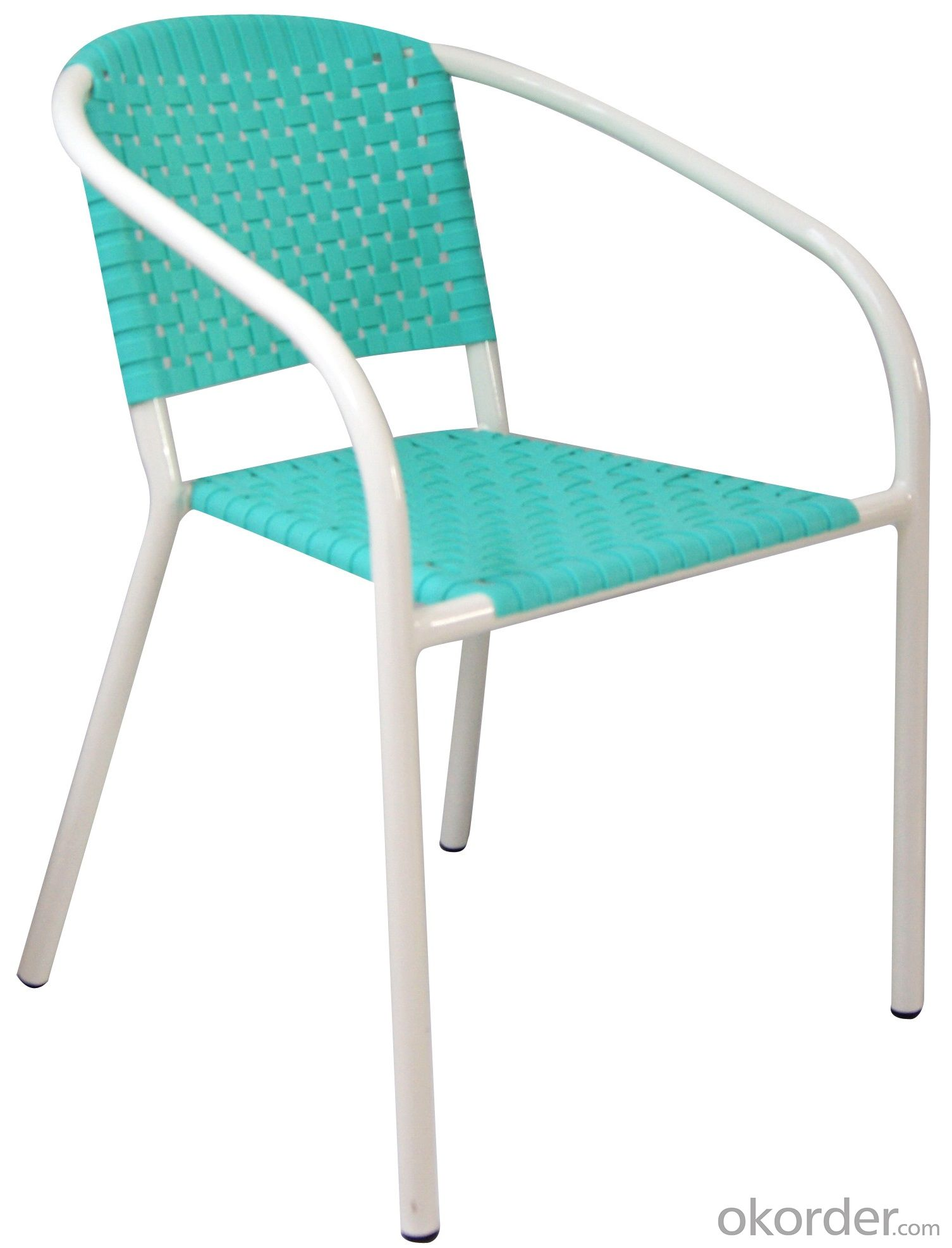 Outdoor plastic leisure chair