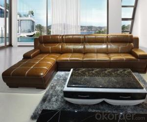 Leather sofa model-11