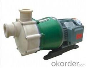 CQB 40-40-125F Fluoroplastic Alloy Magnetic Pump