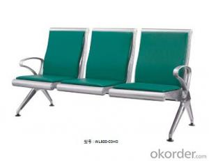 Latest Stainless Steel Waiting Chair 800-03H3