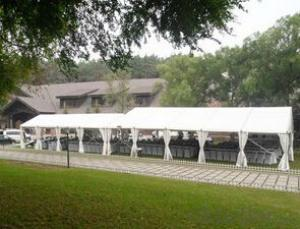Luxury gazebo tent, grass wedding tent