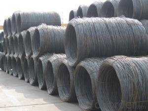 SAE1008 Steel Wire Rod with High Quality 5.5mm-12mm