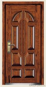 Steel Wooden Armored Doors 2050*860*80mm