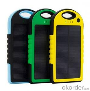 Solar Power Bank for Mobile Phone