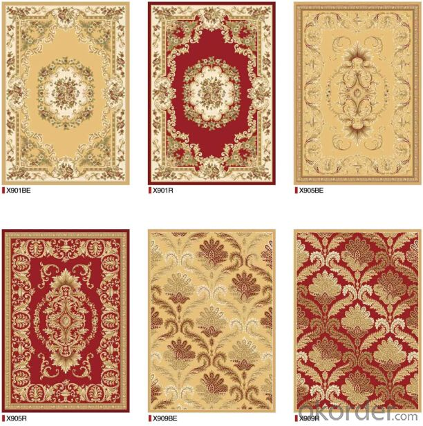 Woven Jacquard Rugs , Home Used Carpet and Rugs