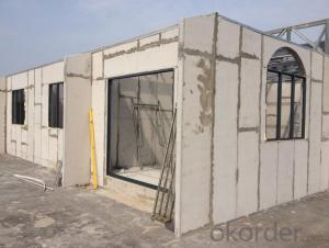 Light Concrete Prefab House Prefabricated House Low Cost Exported To Africa