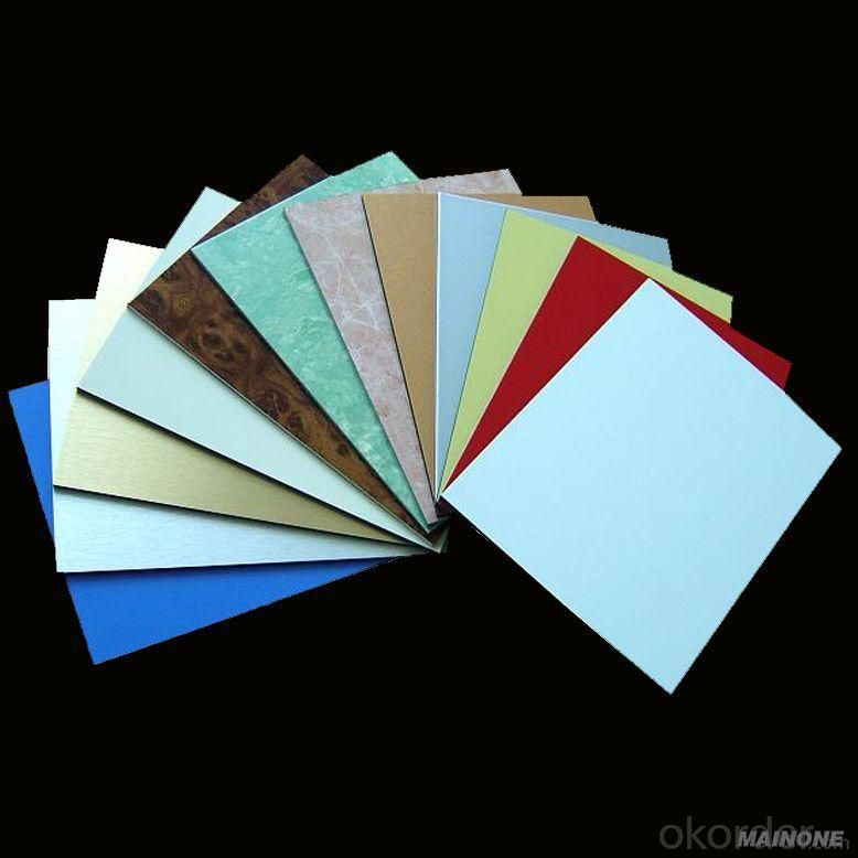 PVDF Aluminum Composite Panel with Competitive Price