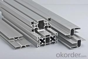 Aluminium profile extrusion 6063
