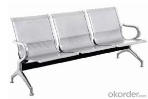 Hot Sale Stainless Steel Waiting Chair L04