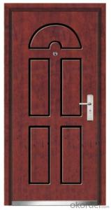 Steel Wooden Armored Doors for  Houses