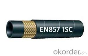 Wire Braided Hydraulic hose EN857 2SC