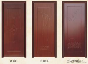 Iron Steel Security Metal Door with Top Quality