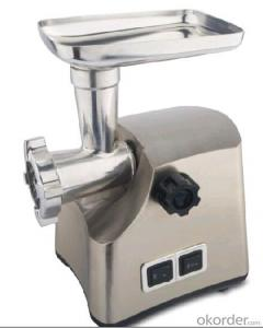 Meat grinder for coarse/medium/fine grind