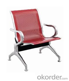 Hot Sale Stainless Steel Waiting Chair A8501F