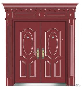 Modern wooden PVC doors interior entrance door