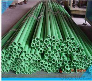 Plastic Pipe-PPR Pipe (green)