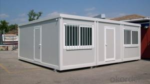 Collapsible Container House Galvanized Energy Effective Modular Kit House For Shop