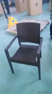 Rattan Look Plastic Garden Chairs