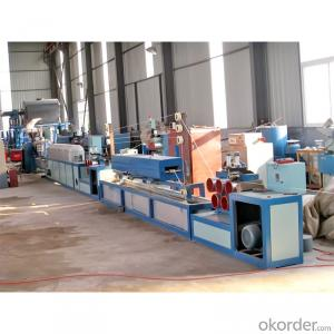 PET PP strap band tape production line / PET PP packing tape band production line / PET PP packing strap extrusion line
