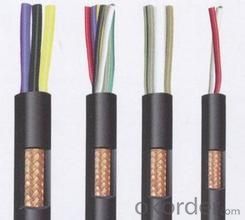 Multi-pairs screen control cable used for computer