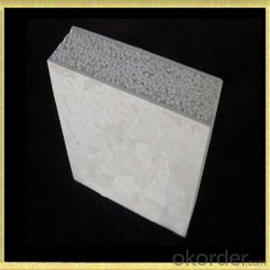 Light weight Sound Insulation Fiber cement sandwich wall panel