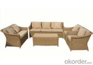 Garden Outdoor Rattan Sofa Set