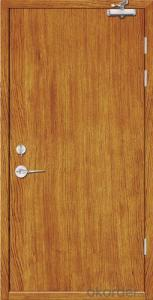 Fire Rated Door with Wooden Colors
