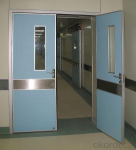 Oak engineered half glass design wooden entry door