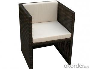 Rattan Dinner Table and Chair